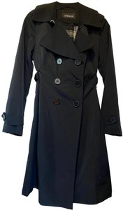 London Fog Classic Waterproof Double Breasted Belted Trench Coat