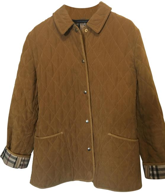 Item - Camel London Classic Barn Style Quilted Coat Jacket Size 6 (S)