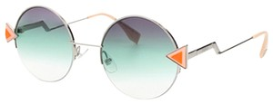 Fendi FENDI WOMEN'S SUNGLASSES FF0243 GREEN/SILVER FRAME