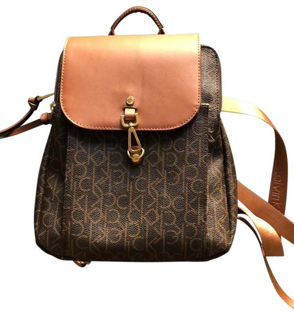Item - An Brown Leather Backpack