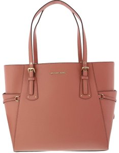 Michael Kors New Charity Leather Tote in Pink