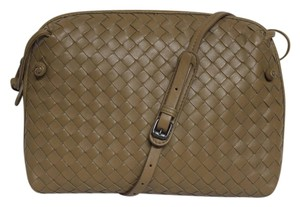 Bottega Veneta Strap Drop 23.5 Nappa Leather Cross Body Bag