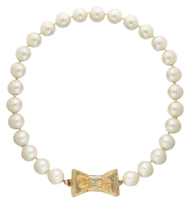 Item - Cream New York All Wrapped Up In Pearls Short Necklace