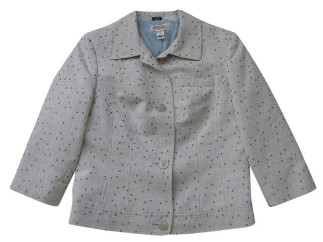 Preload https://item4.tradesy.com/images/talbots-beige-with-tan-light-blue-and-beige-polka-dots-rn-21664-blazer-size-6-s-2693383-0-0.jpg?width=400&height=650
