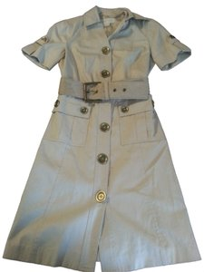 Michael Kors short dress Khaki Trench Safari Belted on Tradesy