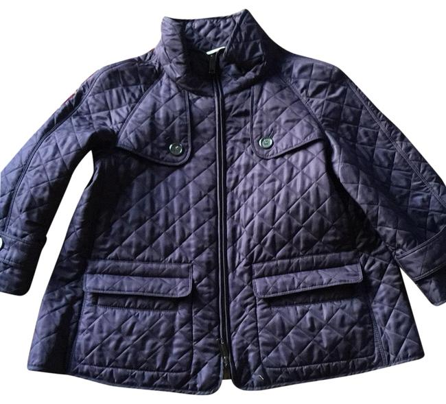 Item - Plum Quilted Jacket Size 4 (S)