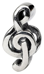 Apples of Gold .925 STERLING SILVER TREBLE CLEF BEAD