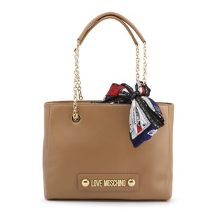 Love Moschino Leather Scarf Shoulder Bag
