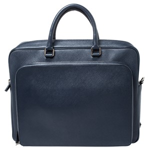 Prada Leather Two Way Laptop Bag