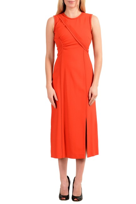Hugo Boss Orange V-14614 Mid-length Short Casual Dress Size 2 (XS) Hugo Boss Orange V-14614 Mid-length Short Casual Dress Size 2 (XS) Image 1
