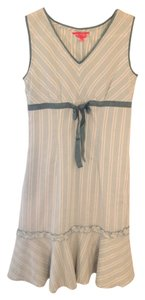 Light Green Maxi Dress by Su^Ge Spring Green Striped