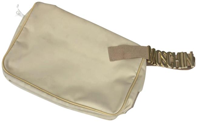 Item - Beige Canvas Wristlet