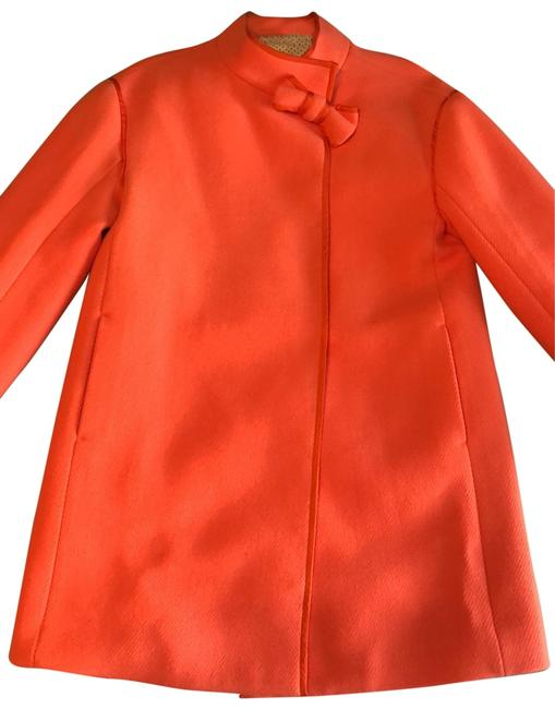 Item - Orange Coat Size Petite 0 (XXS)