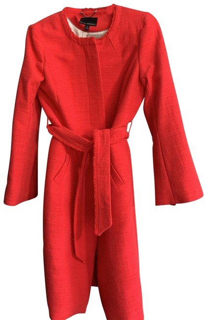 Item - Coral/Red Coat Size 4 (S)