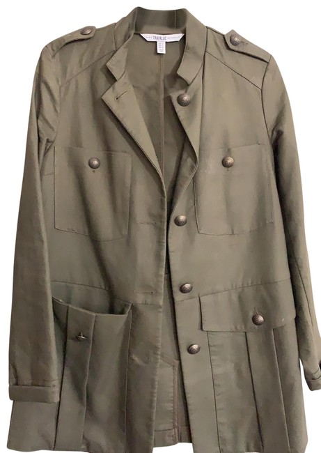 Item - Olive Green Jacket Size 4 (S)