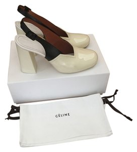 Céline Slingback 95 38no 315023mrtc Sku 14426442 black and white Pumps