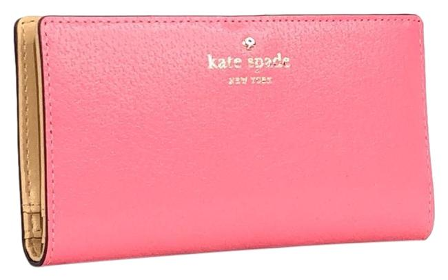 Item - Pink New York Grand Street Stacy Leather Wallet