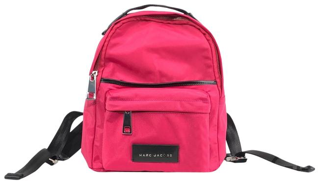 Item - Pink Nylon Backpack