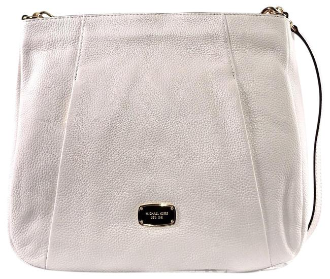 Item - Hobo Hallie Large Tote/ Optic White Leather Shoulder Bag