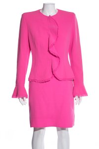 Escada ESCADA Pink Skirt Suit