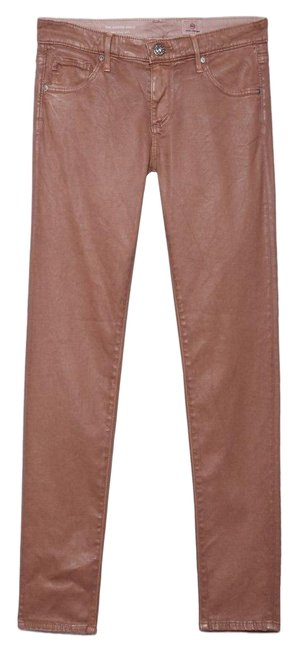 Item - Rose Gold Coated The Ankle Jeggings Size 00 (XXS, 24)