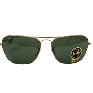Ray-Ban square Caravan metal sunglasses RB3136