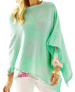 Lilly Pulitzer Wrap Cashmere Soft Green Cardigan