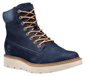 Timberland Navy Blue Boots