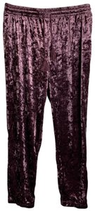 Lexico Fashion Capri/Cropped Pants Purple