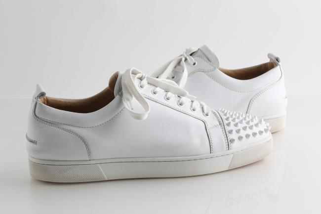Item - White Louis Junior Spiked Low-top Sneakers Shoes