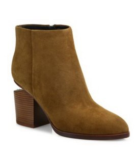 Alexander Wang Cut-out Hollywood Party Date Night Dark Truffle Boots