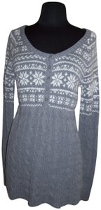 Sonoma New With Tags Snowflakes Knit Tunic Sweater