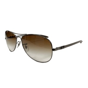 Ray-Ban Silver RB8301 Tech - Light Brown Gradient Lenses