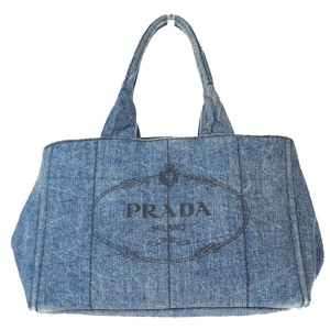 Prada Made In Italy Tote in Blue