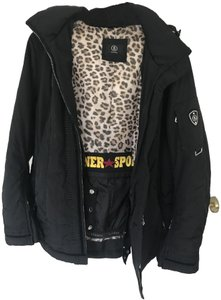 Bogner Black/leopard interior Jacket