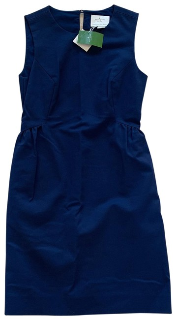 Item - Blue Rhys California Calling French Navy Mid-length Cocktail Dress Size 2 (XS)