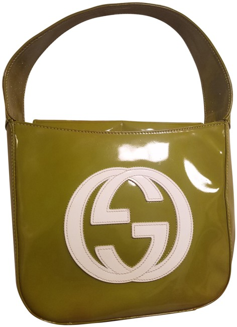 Gucci Top Handle Tote Rare Ford Era Mini Hand Lime Green Patent Leather Baguette Gucci Top Handle Tote Rare Ford Era Mini Hand Lime Green Patent Leather Baguette Image 1