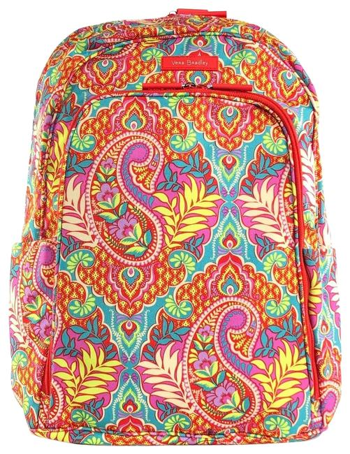 Item - Quilted Cotton Paisley Multi Backpack