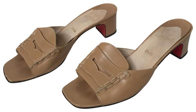 Item - Brown Penny Loafer Mules Sandals Size EU 36 (Approx. US 6) Regular (M, B)