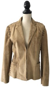 Donald J. Pliner Tan Jacket