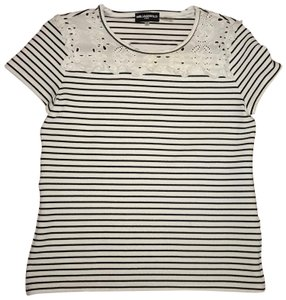 Karl Lagerfeld Top black & white