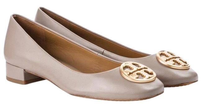 Item - Gray Chelsea 25mm Heeled Ballet 50804 Flats Size US 9.5 Regular (M, B)
