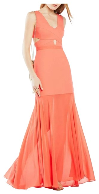 Item - Orange Joy Long Formal Dress Size 4 (S)