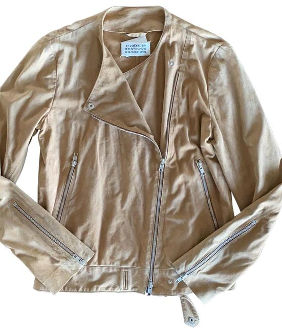 Item - Brown Suede Leather Jacket Size 6 (S)