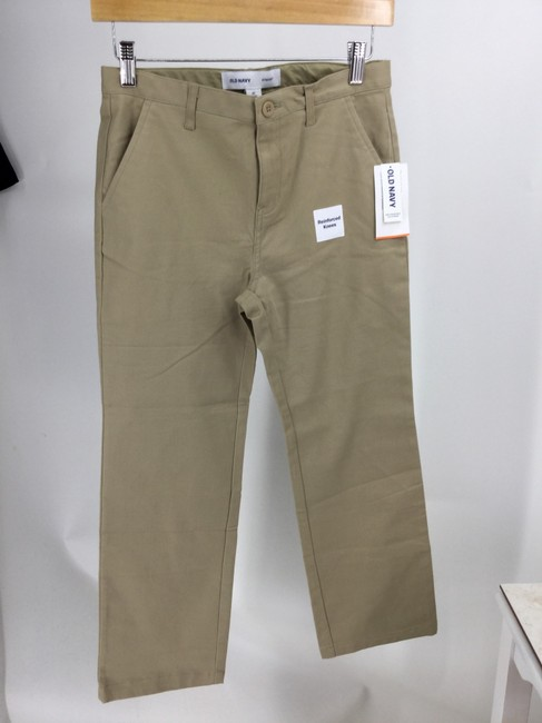 Old Navy Blue/Khaki Dark Rinse Four Pairs Girls Pants Boot Cut Jeans Size OS (one size) Old Navy Blue/Khaki Dark Rinse Four Pairs Girls Pants Boot Cut Jeans Size OS (one size) Image 8
