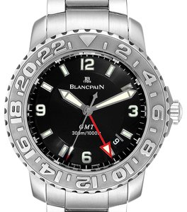 Blancpain Blancpain Fifty Fathoms Trilogy GMT Steel Mens Watch 2250