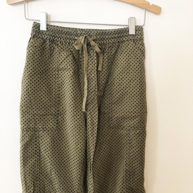 Anthropologie Green Flocked Joggers Pants Size 10 (M, 31) Anthropologie Green Flocked Joggers Pants Size 10 (M, 31) Image 3