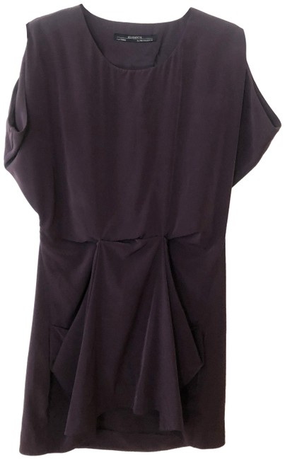 Item - Wine Red Short Casual Dress Size 2 (XS)