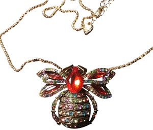 "Betsey Johnson 30"" Venom Necklace"