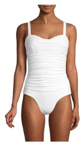 Gottex Swim Ribbons Textured One-Piece Swimsuit